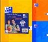 Brulion A5 Oxford w kratkę 96 kartek Esse 2+1 gratis mix
