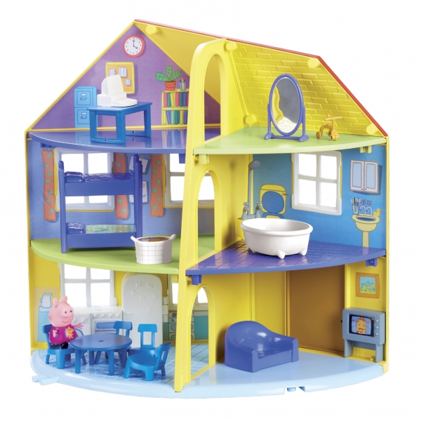 Świnka Peppa - Dom rodzinny
