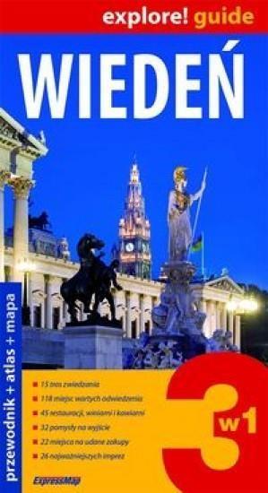 Wiedeń 3w1 Przewodnik+atlas+mapa Praca zbiorowa