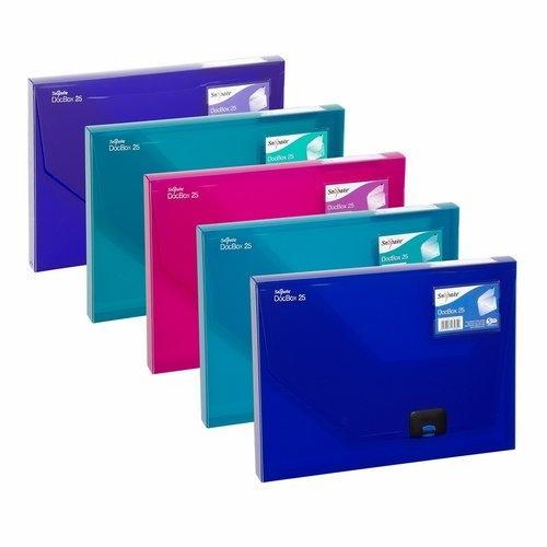 Pudełko na Dokumenty A4 25mm mix kolorów