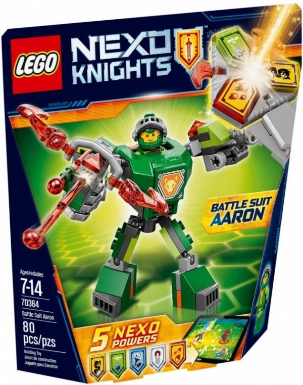 Nexo Knights Zbroja Aaron'a (70364)
