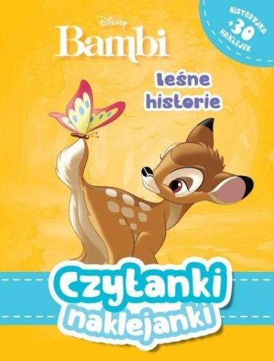 Czytanki naklejanki. Leśne historie. Disney Bambi praca zbiorowa