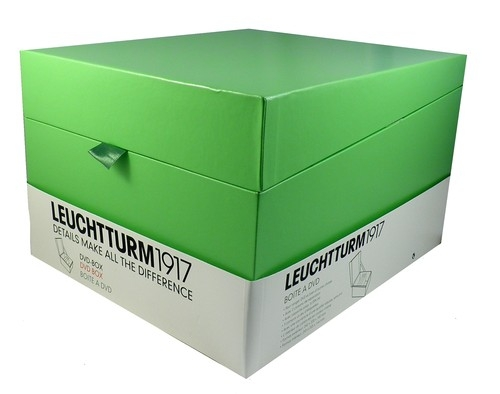 Pudełko na płyty DVD Leuchtturm1917 limonkowe