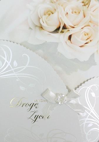 Karnet Ślub Na nową drogę życia DK-282 DK-282