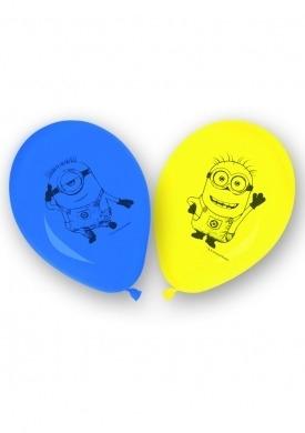 Zestaw 8 balonów Lovely Minions .