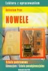 Nowele Prus lektura z opracowaniem