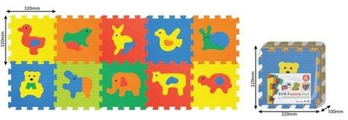 Mata piankowa Smily play Zwierzęta