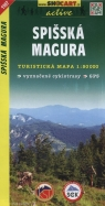 Spisska Magura Mapa turystyczna 1:50 000