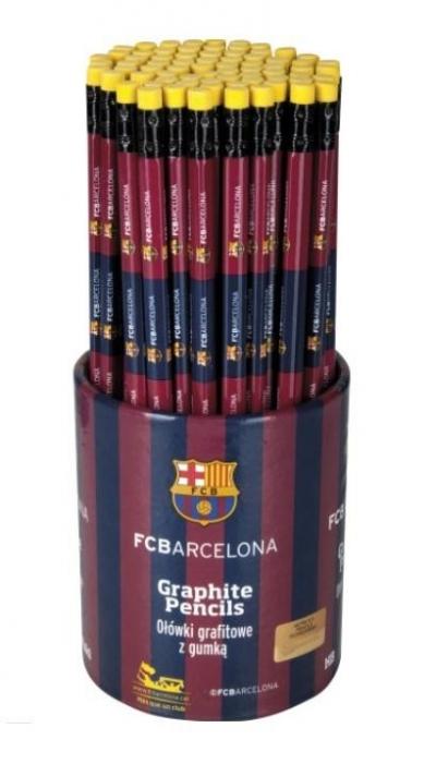 Ołówek trójkątny HB FCB Drum (72szt) ASTRA
