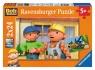 Puzzle Bob Budowniczy Na placu budowy 2x24 (088850)