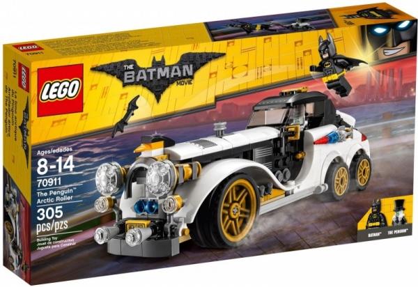Lego Batman: Arktyczny samochód Pingwina (70911)