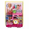 Barbie Domowe wypieki Zestaw do zabawy + Lalka (FHP57)od 3 lat