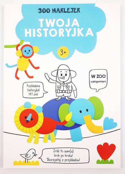 300 naklejek 3+ twoja historyjka Niebieska