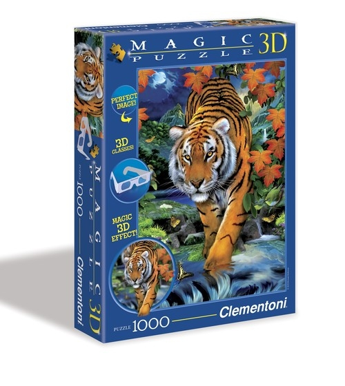 Puzzle Magic 3D Tygrys 1000 (39185)