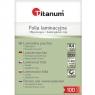 Folia do laminowania Titanum A4 100 mic, 216mm x 303mm - przezroczysta (128864)