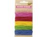 Sznurek papierowy mix kolorów 5x5m, Folia