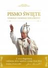 Biblia domowa z obwolutą papieską 2 bp Kazimierz Romaniuk (tłum.)