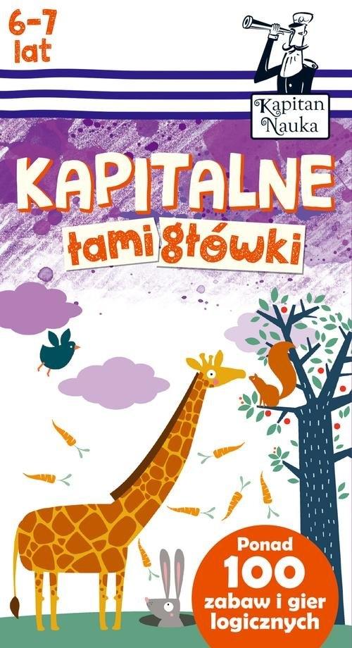 Kapitan Nauka. Kapitalne łamigłówki Trepczyńska Magdalena
