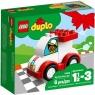 Lego Duplo: Moja pierwsza wyścigówka (10860)