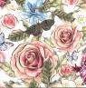 Karnet  kwadrat kwiat AF 01