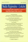 Studia Regionalne i Lokalne 2 (52) 2013