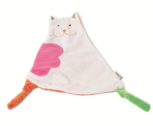 Przytulanka - szeleszczącaszmatka- kotek - 23cm
