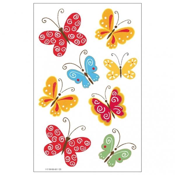 Naklejki A ozdobne Motyle