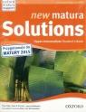 Matura Solutions N Upp-Inter. 2E SB+Exam Brochure Joanna Sobierska Paul A. Davies Tim Falla
