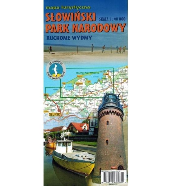 Słowiński Park Narodowy, 1:40 000 - mapa turystyczna Opracowanie zbiorowe