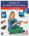 Zajęcia komputerowe z pomysłem 4 Podręcznik z ćwiczeniami szkoła Wysocka Anna, Wimmer Paweł