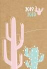 Kalendarz 18 miesięczny DI4 - Kraft kaktus