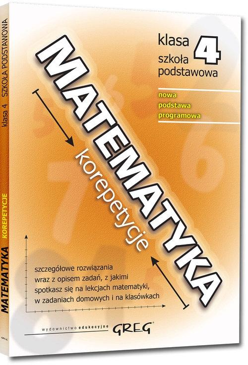 Matematyka - korepetycje - szkoła podstawowa, klasa 4 Gancarczyk Roman
