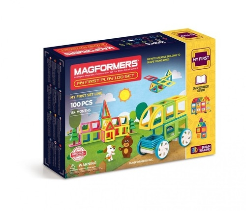 Klocki Magformers My First Play 100 Set