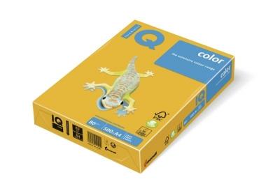 Papier ksero IQ Color A4 80 g ciemny żółty (SY40)