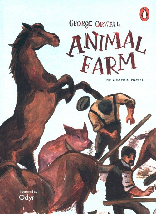 Animal Farm Orwell George, Odyr