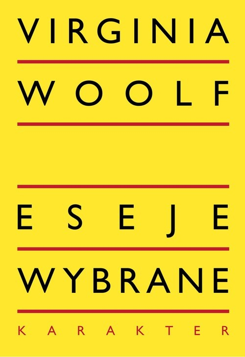 Eseje wybrane Woolf Virginia