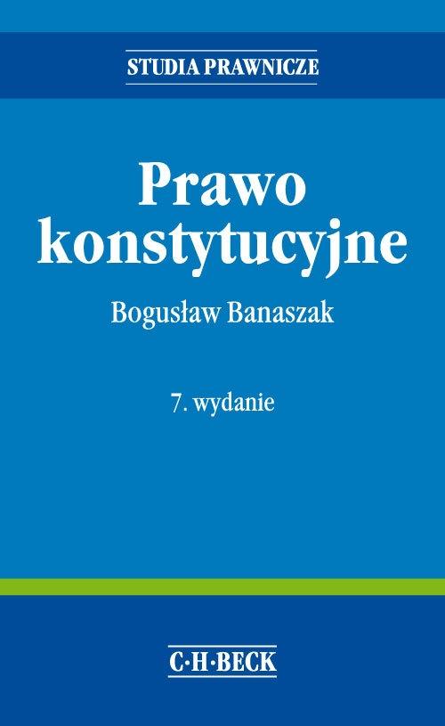 Prawo konstytucyjne Banaszak Bogusław