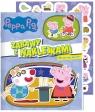 Peppa Pig. Zabawy z naklejkami. Magiczny spacer