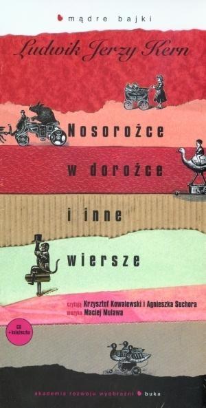 Nosorożce w dorożce i inne wiersze  (Audiobook) Kern Ludwik Jerzy