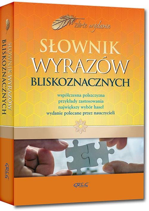 Słownik wyrazów bliskoznacznych (Uszkodzona okładka)