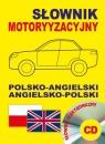 Słownik motoryzacyjny polsko-angielski angielsko-polski + CD słownik elektroniczny