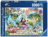 Puzzle 1000: Świat według Disneya (15785)
