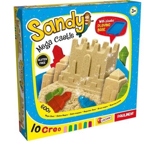 Sandy Zamek Piasek kinetyczny (80854) (Uszkodzone opakowanie)