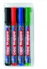 Markery suchościeralne Edding 360 4 kolory okrągła końcówka 1,5-3mm (360/4S ED)