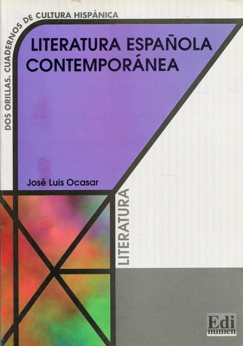 Literatura espanola contemporanea Ocasar Jose Luis