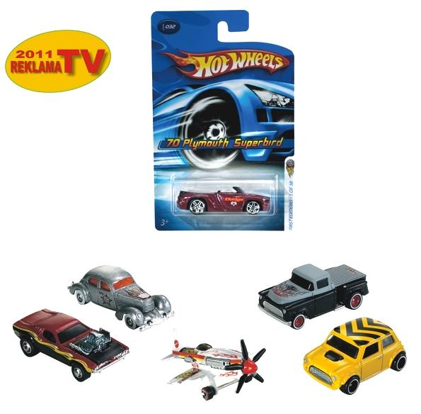 Hot Wheels małe samochodziki (5785)
