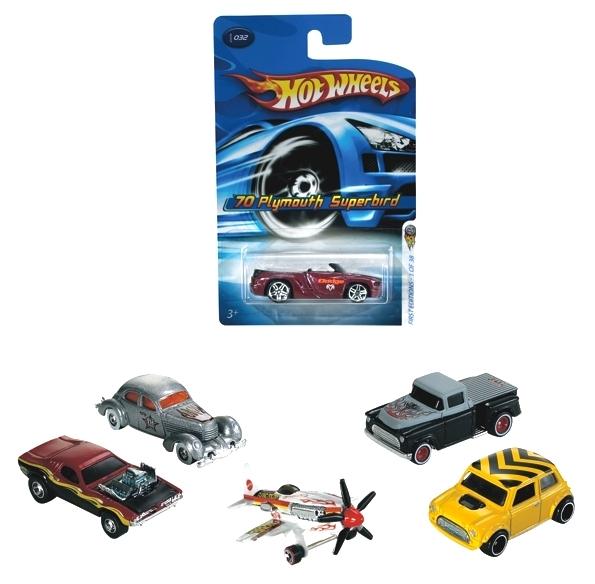 Hot Wheels: Małe samochodziki (5785)