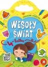 Wesoły świat 4-latka Edukacyjna książeczka z naklejkami