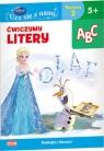 Disney Ucz się z nami Ćwiczymy litery Kraina Lodu 5+