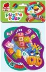 Miękkie magnetyczne puzzle - Lew i Hipopotam (RK5020-04)